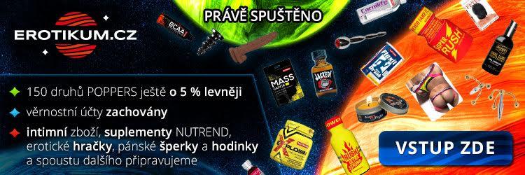 Erotikum.cz - 150 druhů poppers