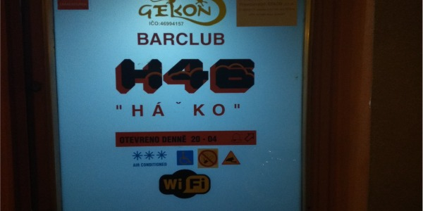 GAY erotic guide:  BAR H46 Brno